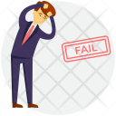 Business Failure Icon