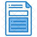 Business Business File Report Icon