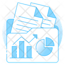 Business Report Growth Analysis Sales Report Icon