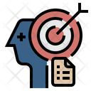 Business Goal Goal Target Icon