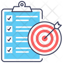 Business Goal Business Target Business Aim Icon