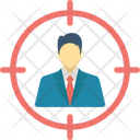 Business Goal Business Target Financial Goal Icon