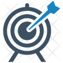 Aspirations Business Goal Target Icon