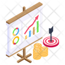 Business Goal Business Target Business Objective Icon