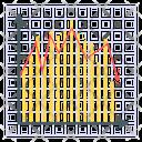 Graph Plot Statistics Diagram Icon
