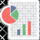 Business Graph Statistics Analytics Icon