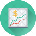Business Graph Sales Icon