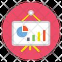 Business Graph Board Icon