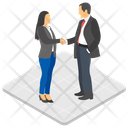Business Greeting Icon