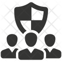 Business Group Guard Icon