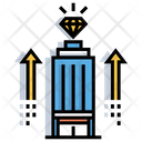 Business Grow Business Empire Company Growth Icon