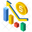 Business Growth Fnance Analysis Icon