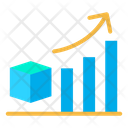 Manufacturing Growth Product Manufacturing Growth Graph Icon