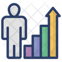 Analyst Business Growth Financial Raise Icon