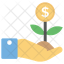 Business Growth Finance Development Growth And Protection Icon