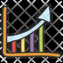 Bar Chart Bar Graph Statistical Presentation Icon