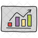 Business Presentation Graph Presentation Charting Application Icon