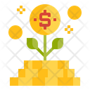 Investment Plant Finance Icon