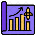 Business Growth Startup Increase Icon