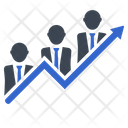 Growth Graph Business Icon