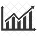 Business Growth Graph Progress Icon