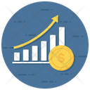 Growth Chart Business Analytics Bar Chart Icon