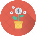 Business Growth Investment Icon