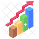 Sale Graph Business Analysis Business Statistics Icon