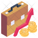 Money Growth Business Growth Financial Growth Icon