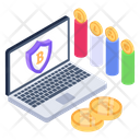 Business Protection Business Growth Online Business Safety Icon