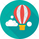 Business Growth Cloud Icon