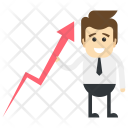 Business Growth Stock Icon