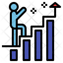 Growth Improve Goal Icon