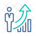 Goal Investment Growth Icon