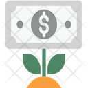 Business Growth Investment Dollar Plant Icon