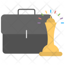 Business Growth Strategy Icon