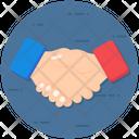 Business Handshake Business Handclasp Meeting Icon