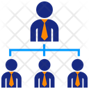 Direct Employees Boss Icon