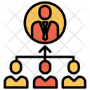 Management Hierarchy Team Icon