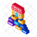 Business Hierarchy Chart Icon