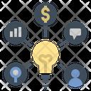Business Idea Plan Icon