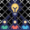 Business Idea Creative Marketing Innovation Icon