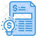 Idea File Creative Icon