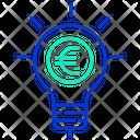 Mbusiness Concept Business Idea Euro Icon