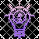 Mbusiness Idea Business Idea Dollar Icon
