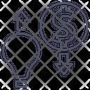 Exchange Idea Money Icon