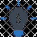 Brainstorming Finance Idea Icon