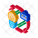 Business Idea Circle Icon