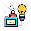Human Business Idea Icon