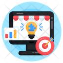 Business Strategy Problem Solution Business Idea Icon